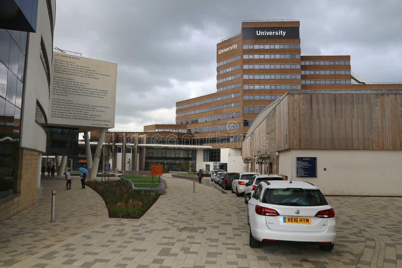 Universidade de Huddersfield foto de stock royalty free
