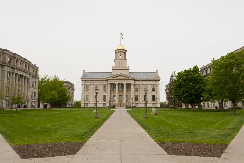 Universidade de Iowa imagens de stock