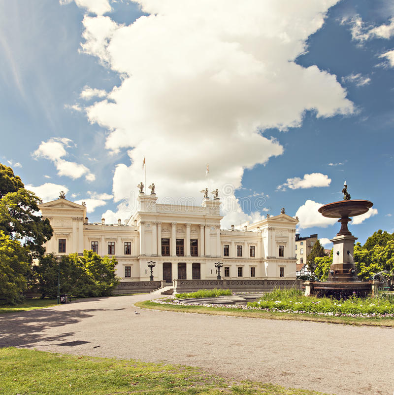 Universidade de Lund foto de stock