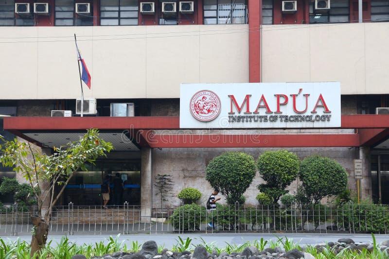 Universidade de Mapua, Filipinas imagens de stock royalty free
