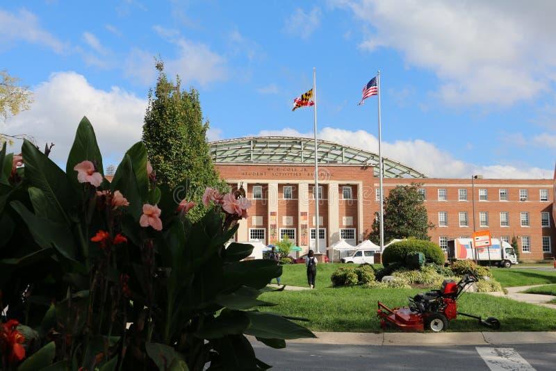Universidade de Maryland imagens de stock