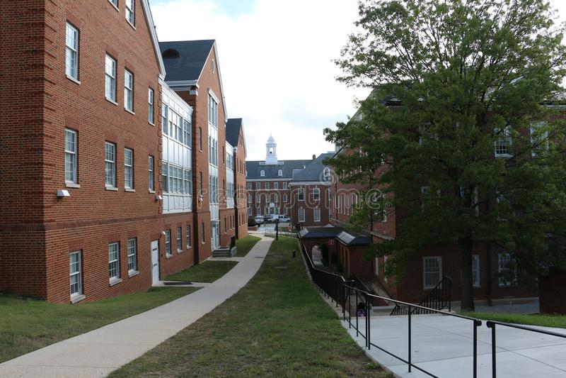Universidade de Maryland imagem de stock