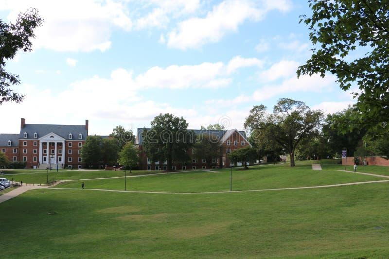 Universidade de Maryland imagem de stock royalty free