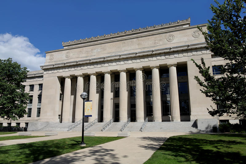 Universidade de Michigan imagens de stock royalty free