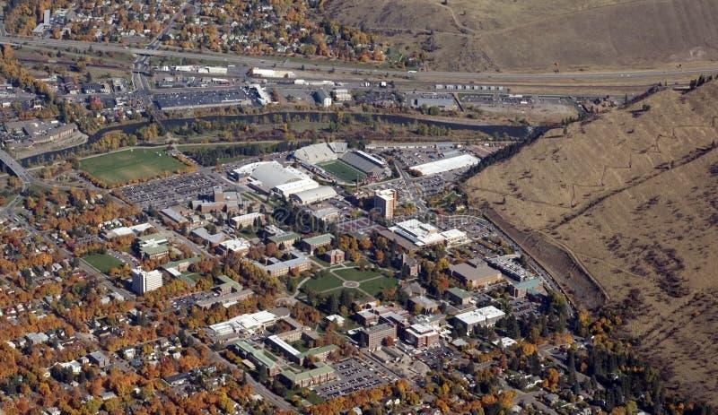 Universidade de Montana imagens de stock
