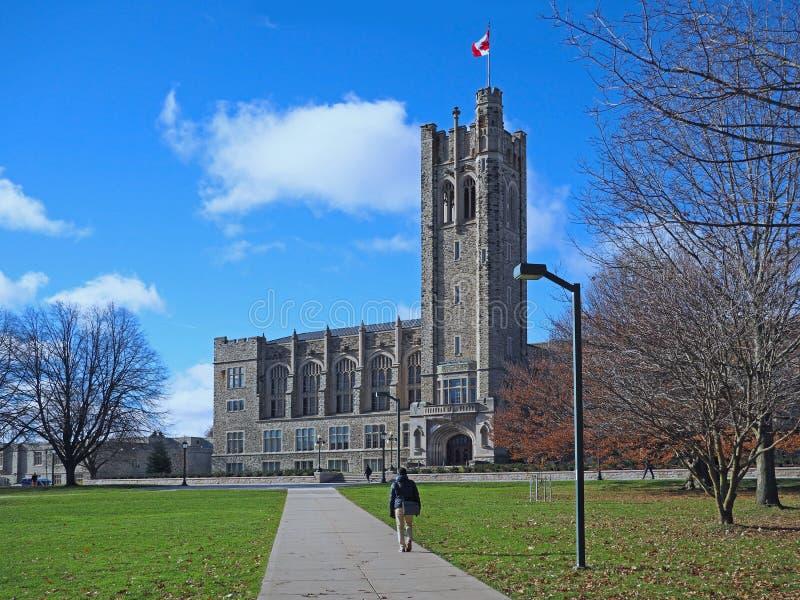 Universidade de Ontário ocidental imagens de stock