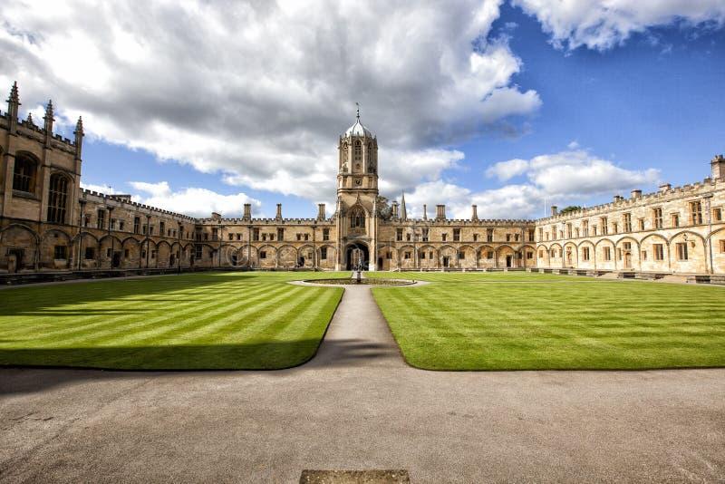 Universidade de Oxford foto de stock