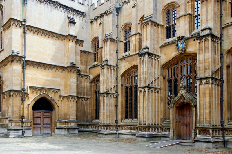Universidade de Oxford, biblioteca de Bodleian foto de stock