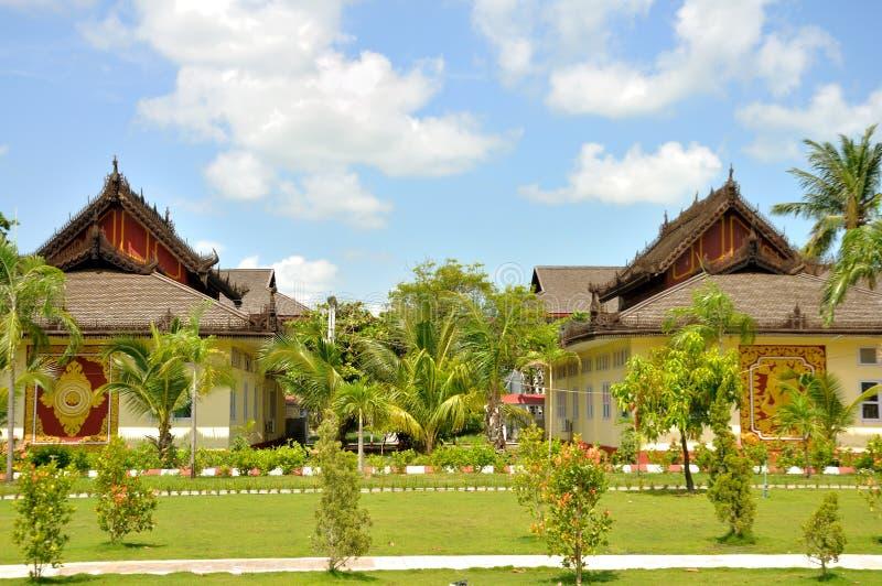 Universidade de Pariyahti Sasana do estado, Mandalay fotos de stock
