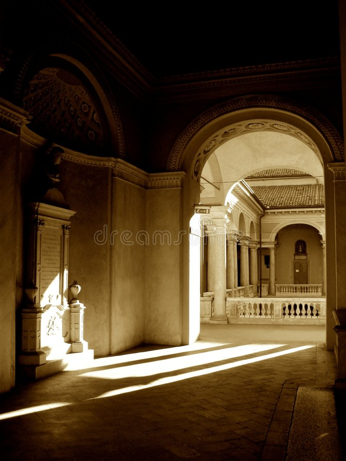 Universidade de Pavia fotos de stock royalty free