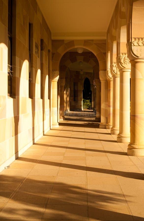 Universidade de Queensland imagens de stock royalty free