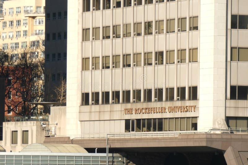 A universidade de Rockefeller fotografia de stock royalty free