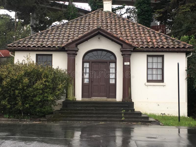Universidade de San Francisco School dos cuidados e da profissão medical, Presidio San Francisco imagem de stock royalty free