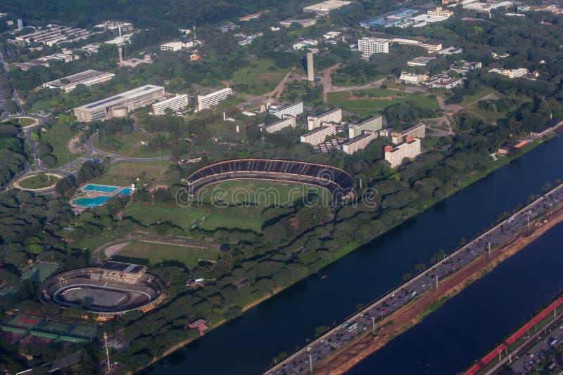 Universidade De Sao Paulo Brazylia fotografia royalty free