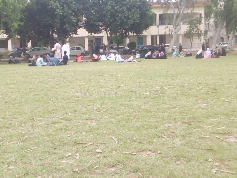 Universidade de Sargodha fotografia de stock