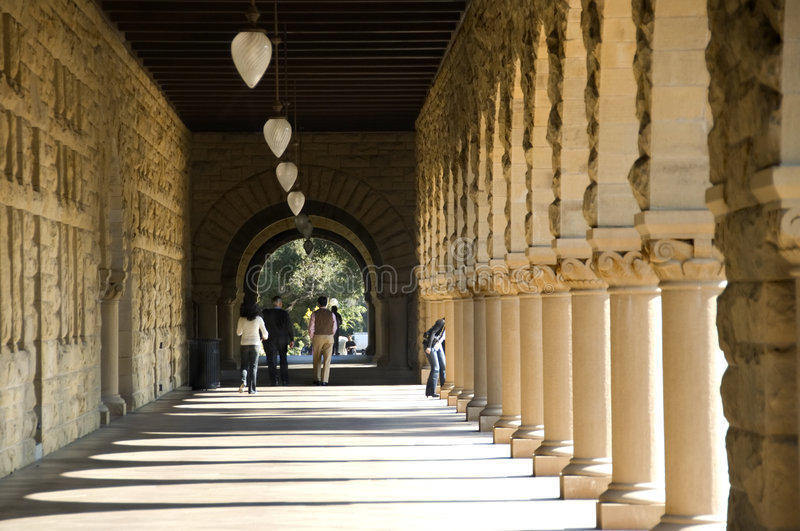 Universidade de Stanford foto de stock