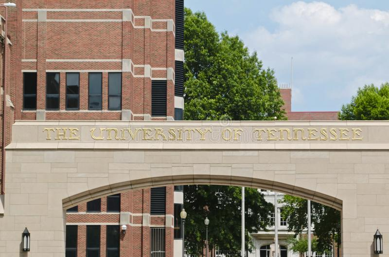 Universidade de Tennessee imagens de stock royalty free