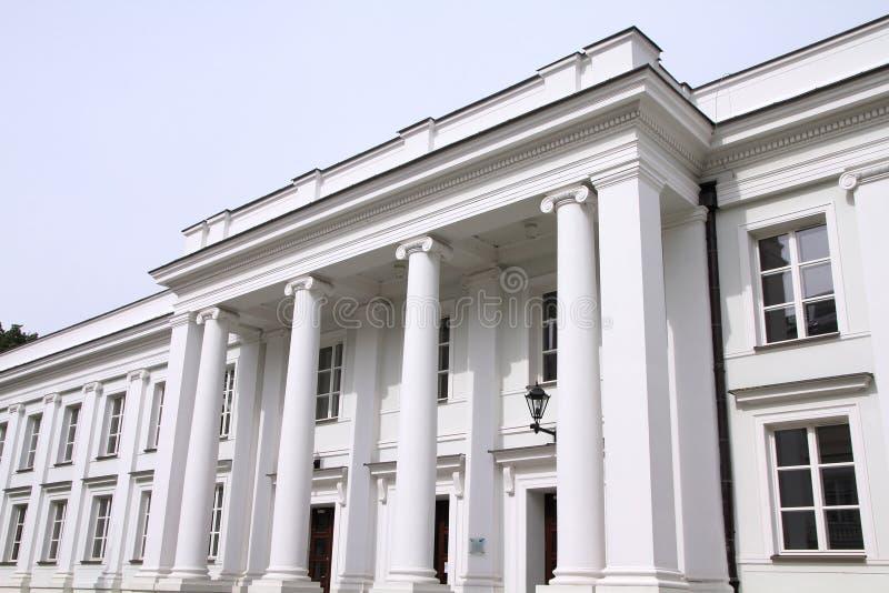 Universidade de Varsóvia imagens de stock royalty free