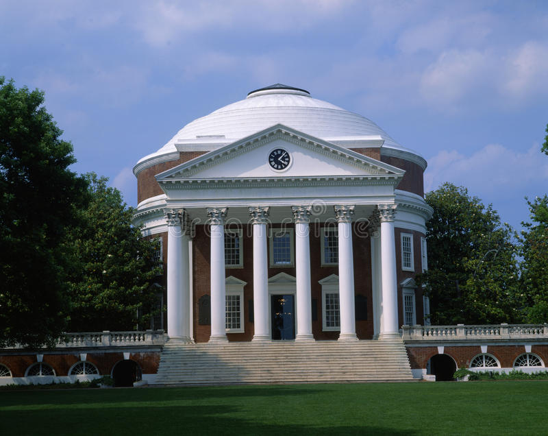 Universidade de Virgínia imagem de stock