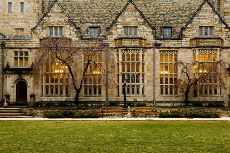 Universidade de Yale foto de stock