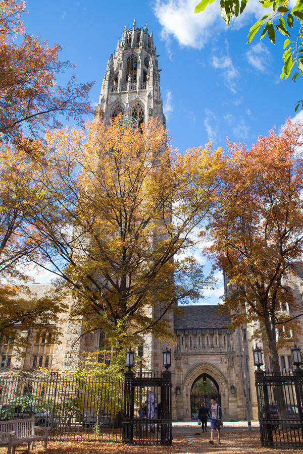 Universidade de Yale foto de stock