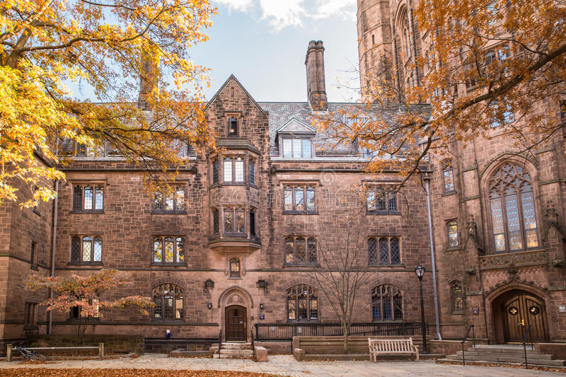 Universidade de Yale fotografia de stock royalty free