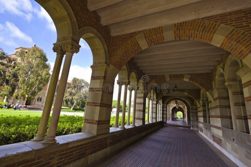 Universidade do Califórnia imagens de stock