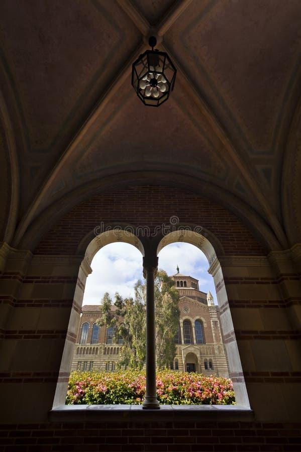 Universidade do Califórnia foto de stock