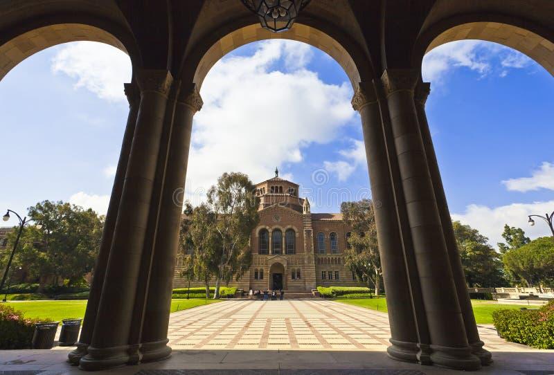 Universidade do Califórnia imagem de stock royalty free