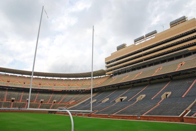 Universidade do campo de futebol de Tennessee fotografia de stock royalty free