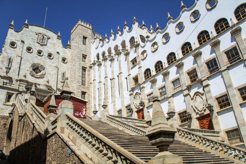 Universidade do guanajuato, México fotografia de stock royalty free