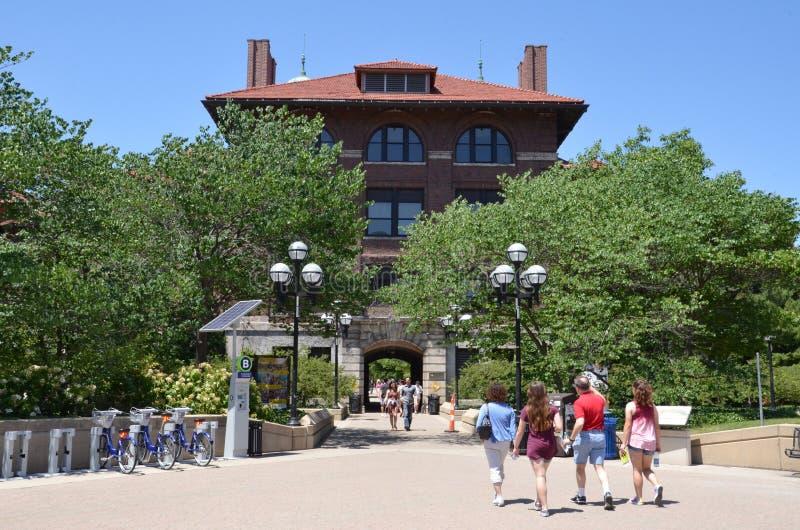 Universidade do Michigan Salão do leste imagens de stock