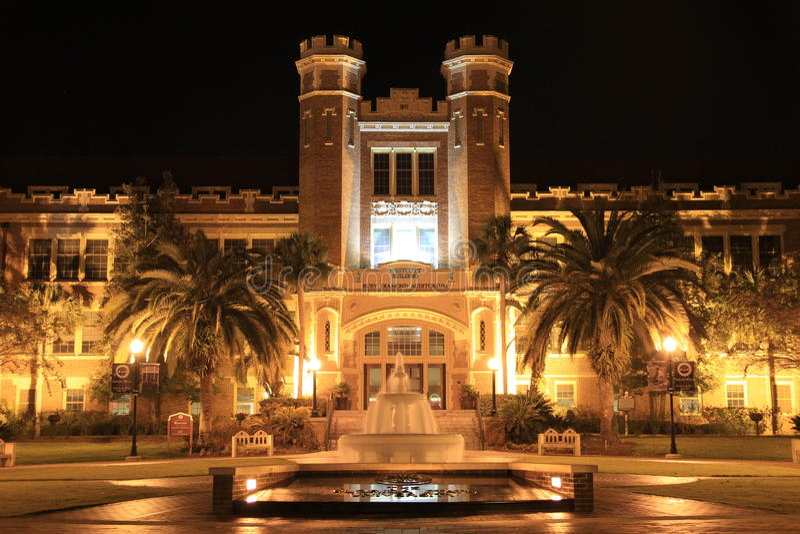 Universidade estadual de Florida fotos de stock royalty free