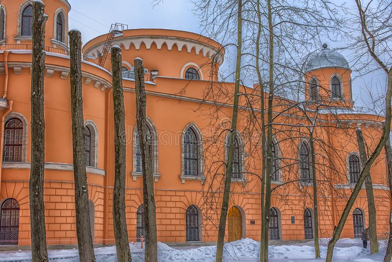Universidade estadual de St Petersburg da instrumentação aeroespacial (St de 15 Gastello foto de stock