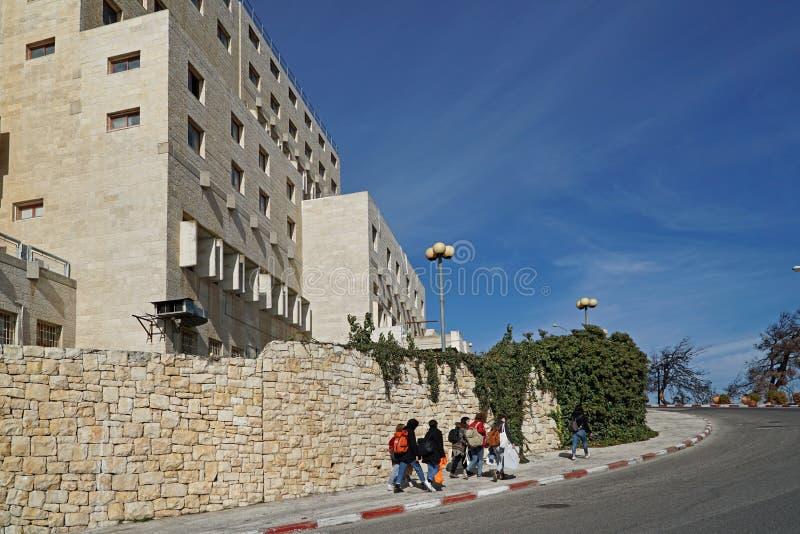 Universidade hebreia do Jerusalém fotos de stock