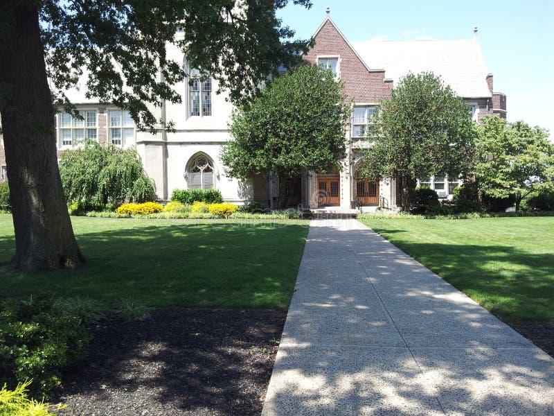 Universidade municipal de New-jersey, Jersey City, NJ fotos de stock royalty free