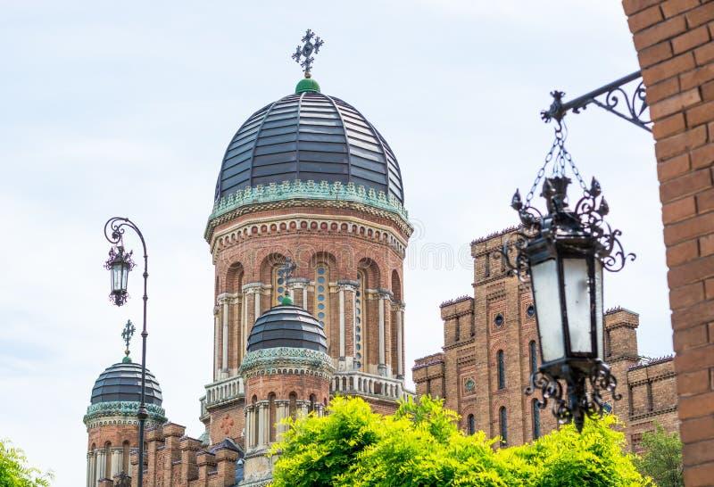 Universidade nacional de Chernivtsi, Chernivtsi, Ucrânia foto de stock royalty free