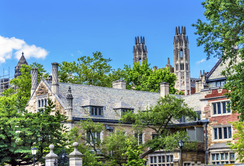 Universidade New Haven Connecticut de Sterling Law School Summer Yale imagem de stock