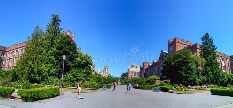 Universidade Seattle de Washington fotografia de stock