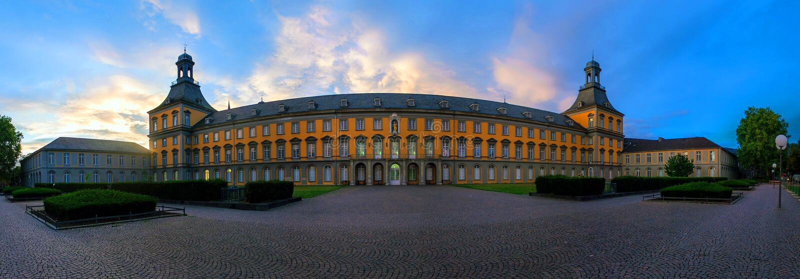 Università a Bonn fotografia stock