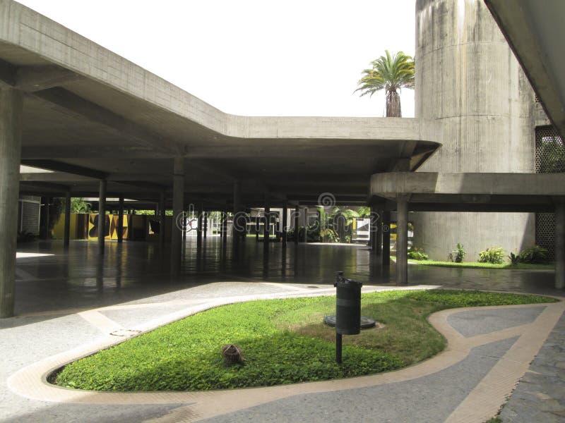 UNIVERSITÀ CENTRALE DI VENEZUELA UCV CARACAS VENEZUELA piacevole immagine stock