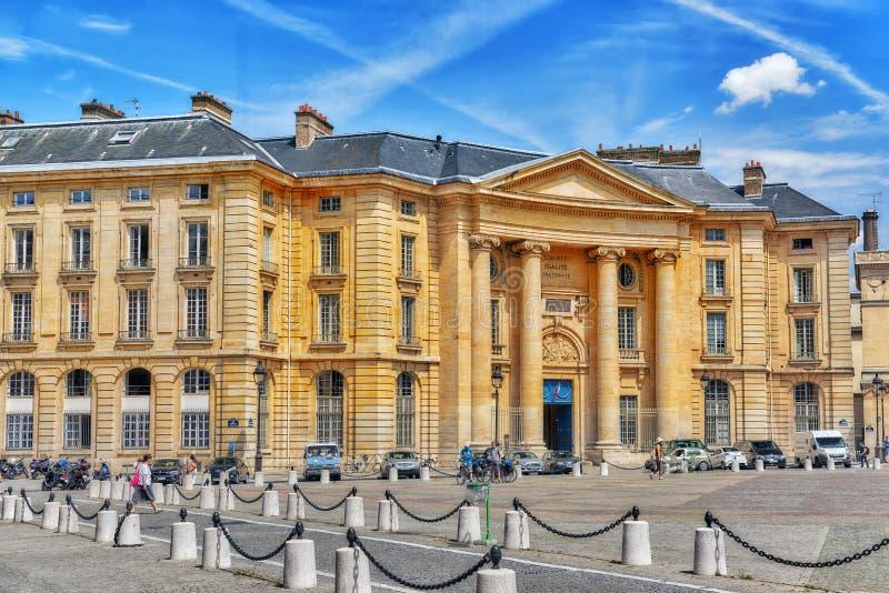 Università del panteon-Sorbonne fotografia stock libera da diritti