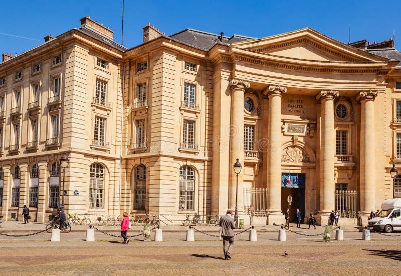 Università del panteon-Sorbonne, anche conosciuta come Parigi 1 fotografie stock