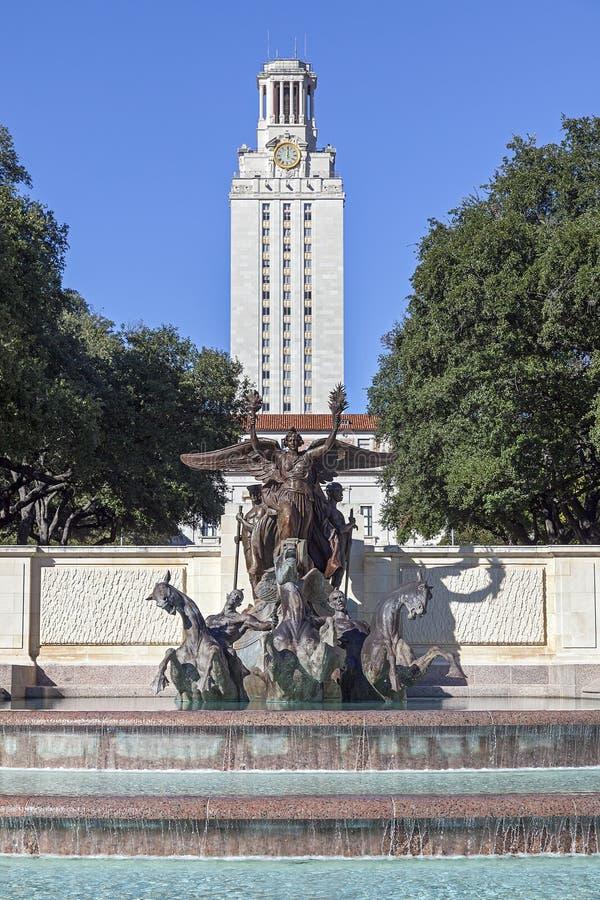 Università del Texas ad Austin immagini stock