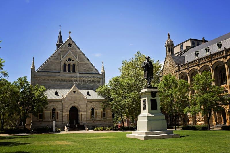 Università di Adelaide fotografia stock libera da diritti