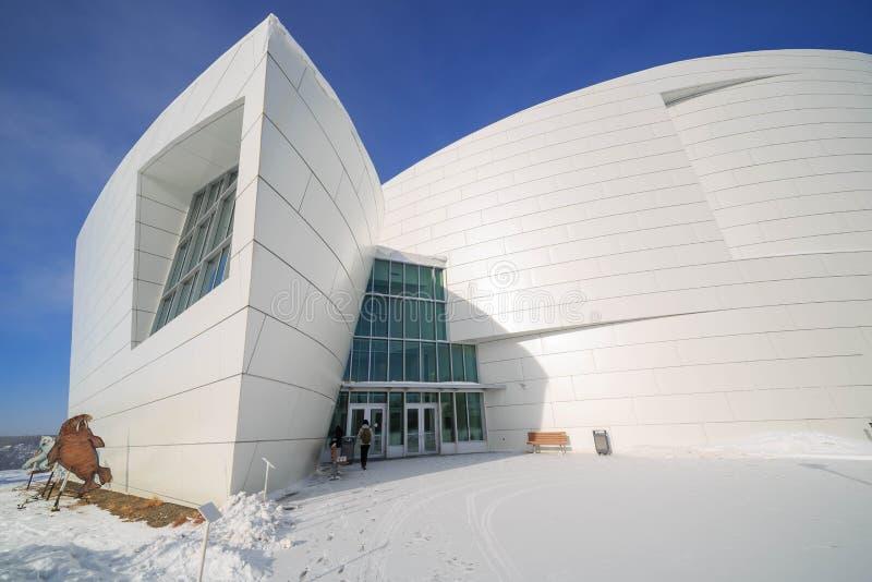 Università di Alaska, museo del Nord fotografia stock