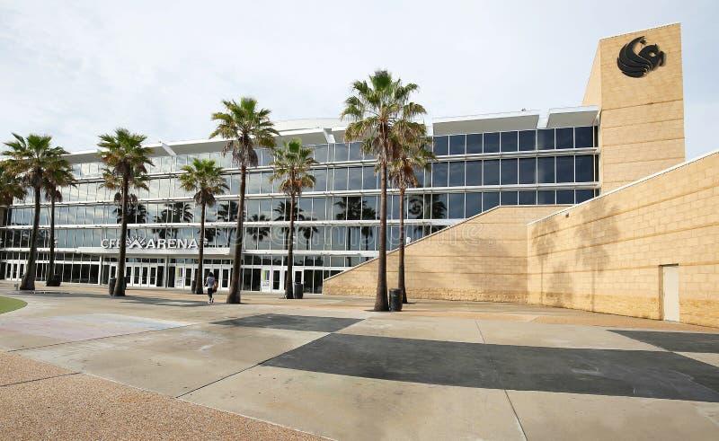 Università di arena centrale del CFE di Florida fotografia stock