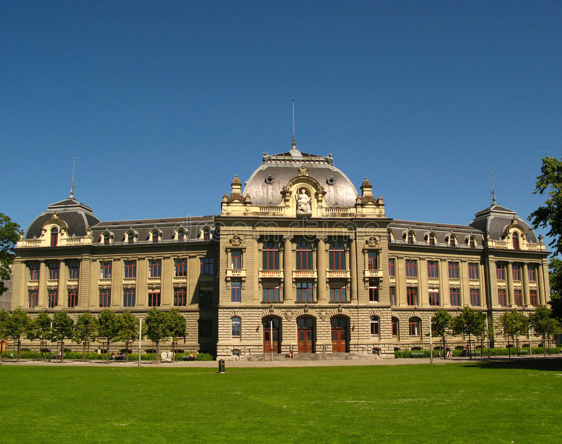Università di Berna, Switzerlan fotografia stock libera da diritti