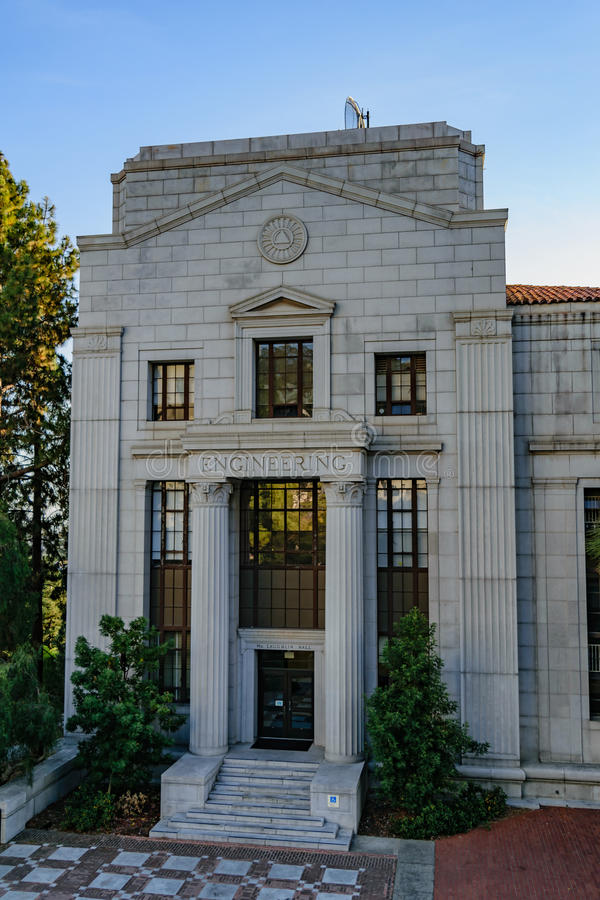 Università di California Berkeley Engineering fotografie stock