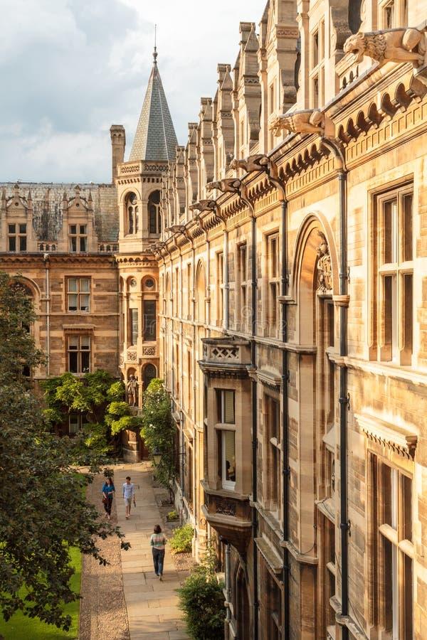 Università di Cambridge, Inghilterra fotografia stock libera da diritti
